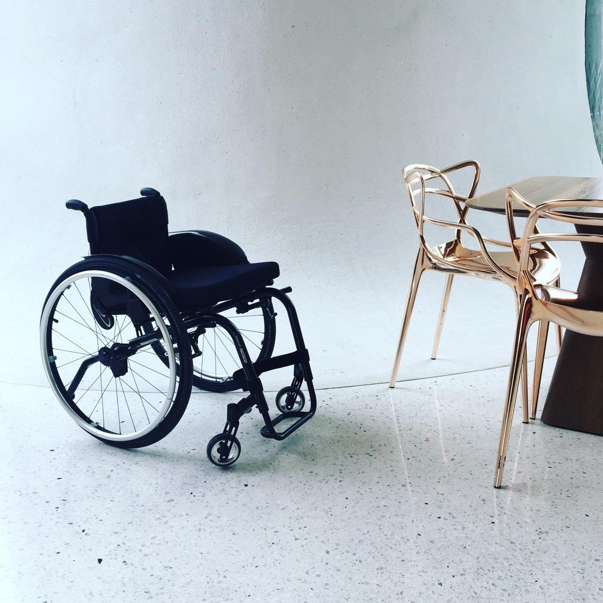 Brief an meinen Rollstuhl ...