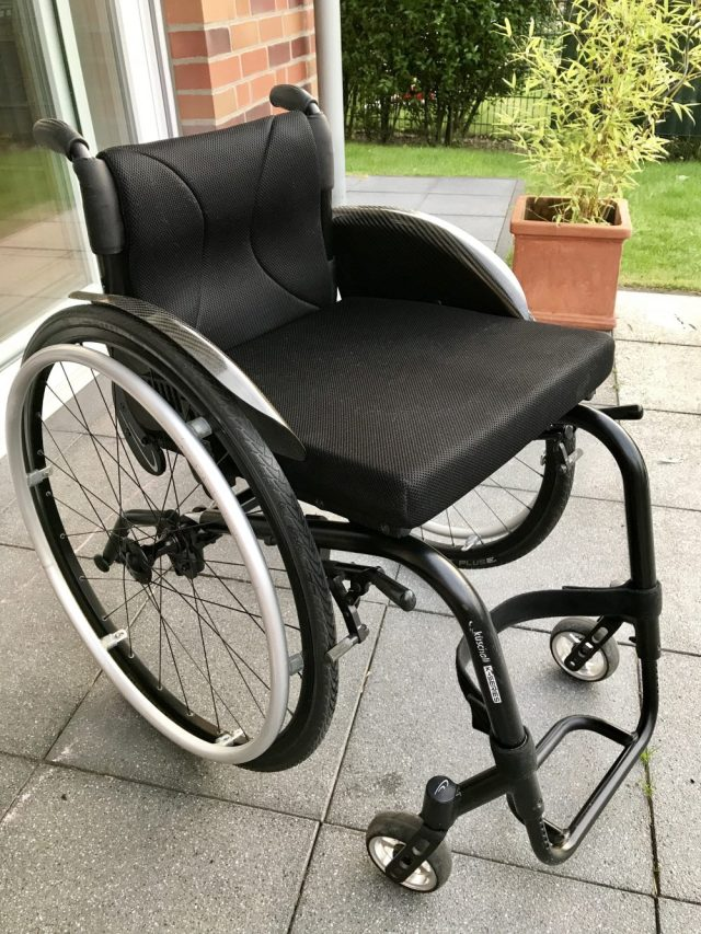 sauber und rein mein Rollstuhl